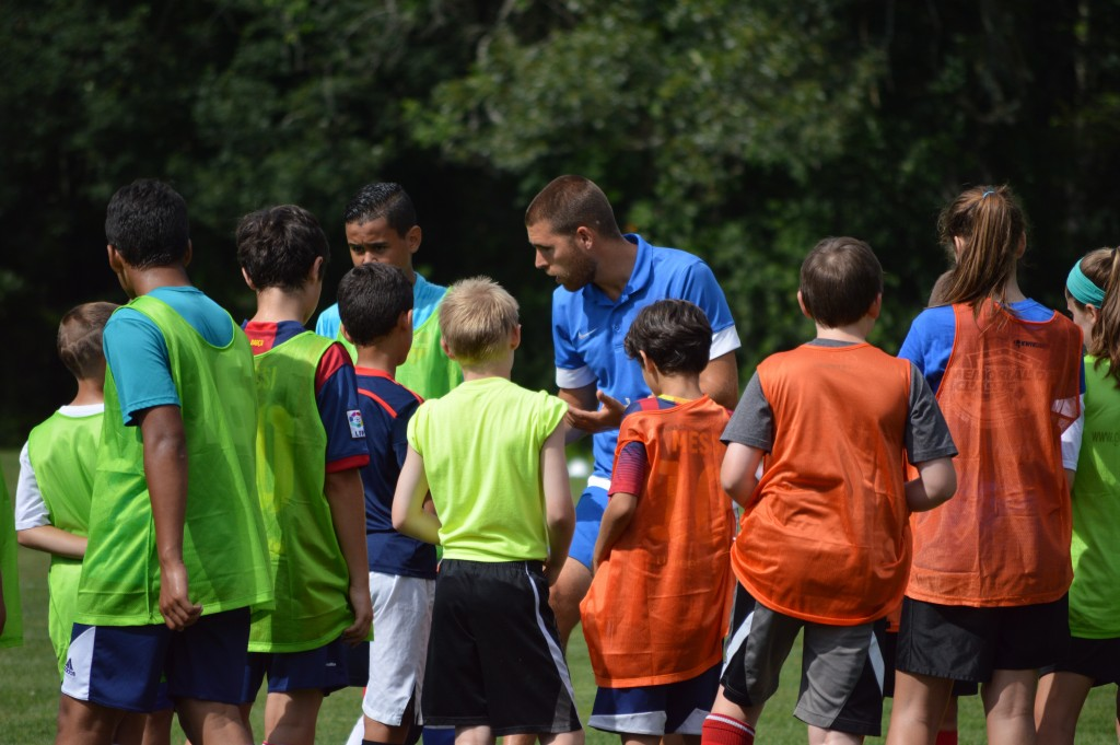 Group Instruction from Coach Eduard