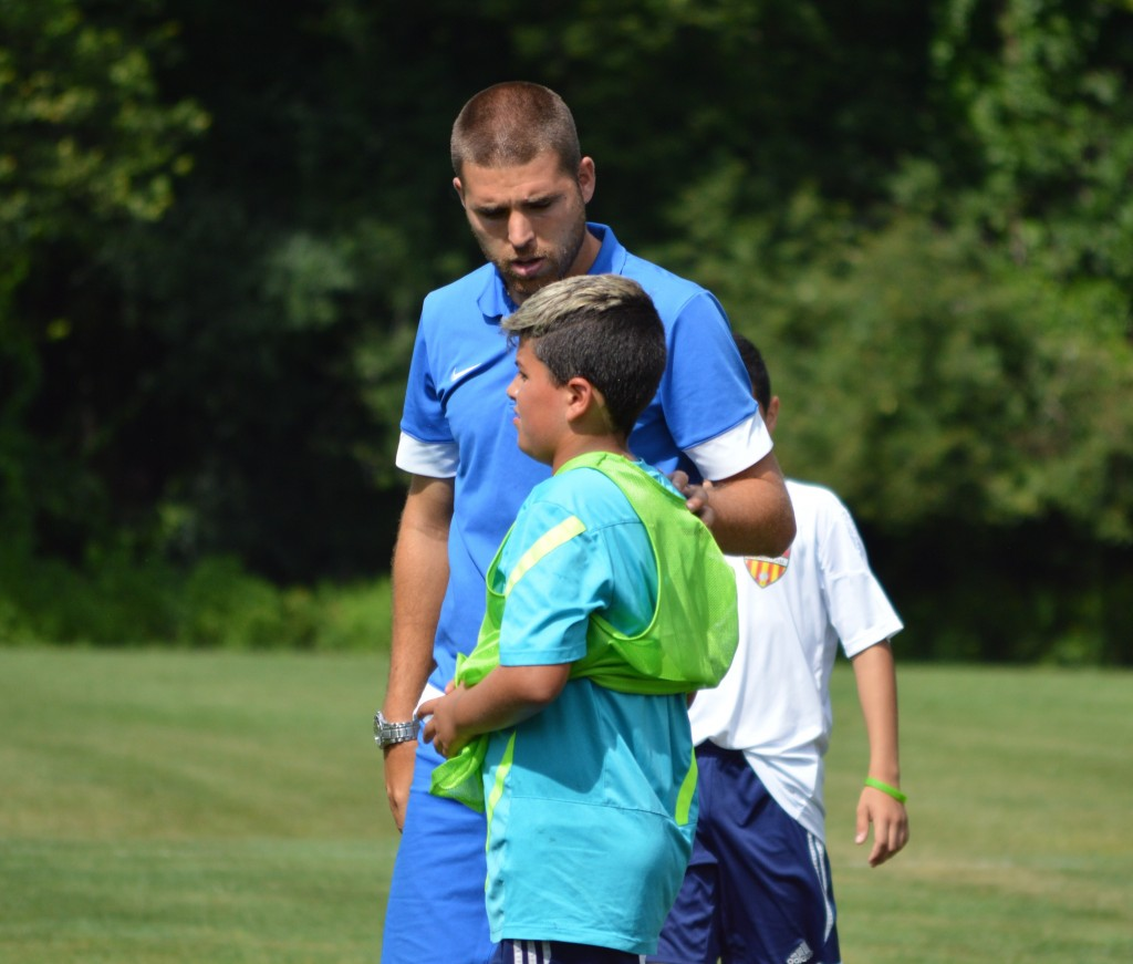 Lucas receives individual instruction