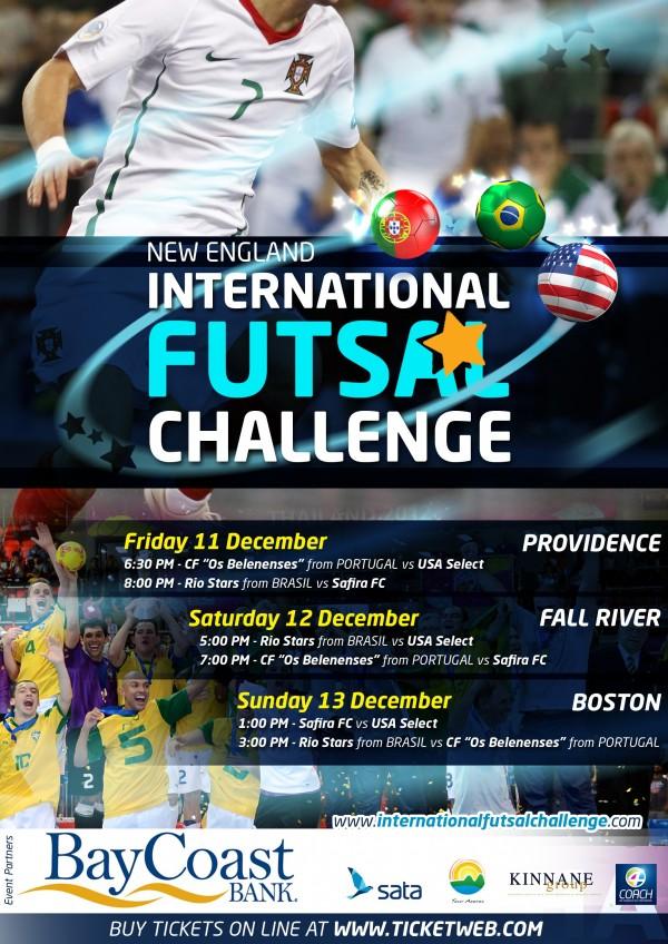 POSTER New England International Futsal Challenge